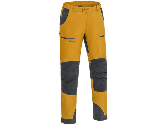 Pinewood Caribou TC Pantalones Hombre, amarillo/gris